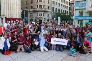 Comu de Lleida acte final de campanya 1